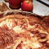 Spécialité alsacienne: flan pommes/cannelle