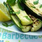 Courgettes menthe/citron au barbec'