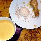 Poulet  à la crème de mangue