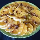 Salade d'oranges à la cannelle & fleur d'oranger