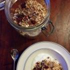 Muesli maison {chocolat, noisette, cranberrie & noix de coco}