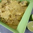 Curry Madras à l'agneau & aux amandes