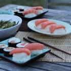Makis, sushis & confit d'échalotes au saké