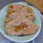 Foie gras vapeur aux mirabelles