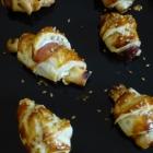 Croissants apéro au chèvre et jambon cru