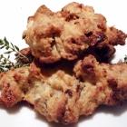 Cookies aux figues , au chèvre et au thym