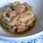 Céviche de saumon aux agrumes