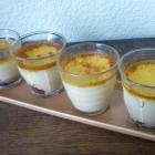 Petits pots de crème à la vanille et nutella