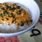Dahl de lentilles au curry jaune et lait de coco