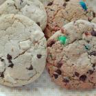 Cookies au beurre de cacahuètes {option m&ms ou chocolat blanc}