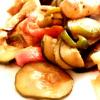 Poulet & légumes du soleil à la plancha