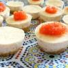 Mini cheese-cakes au saumon fumé