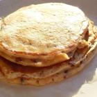 Pancakes petit suisse & chocolat