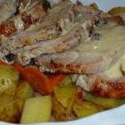 Rôti de porc au cidre