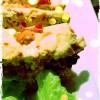 Terrine poulet poivron grillé et olives noires
