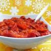 Salade de poivrons marinés de mon enfance