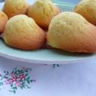Madeleines au citron bergamote