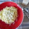 Spaghettis cacio e pepe {pecorino & poivre}