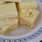 Club sandwich aux oeufs de cailles épicés