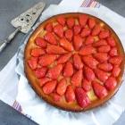 Cheesecake fraises & fève tonka