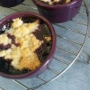 Crumble pommes & fruits rouges