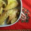 Tajine aux citrons confits et olives vertes