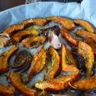 Potimarron rôti, thym, ail & noisettes